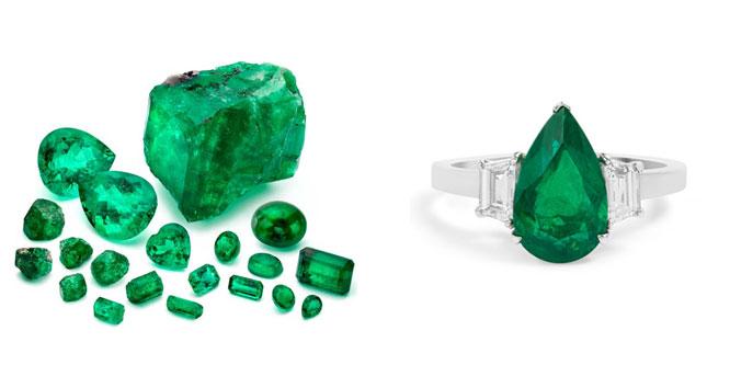 piedra de mayo esmeralda