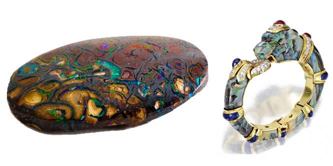 piedra de octrubre opalo