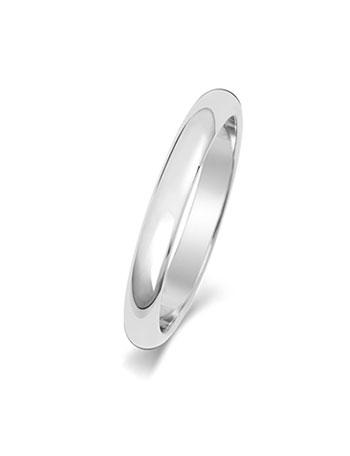 anillos de oro blanco boda
