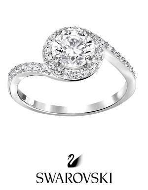 comprar anillos de compromiso swarovski