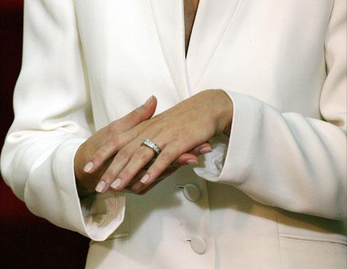 anillo compromiso Letizia