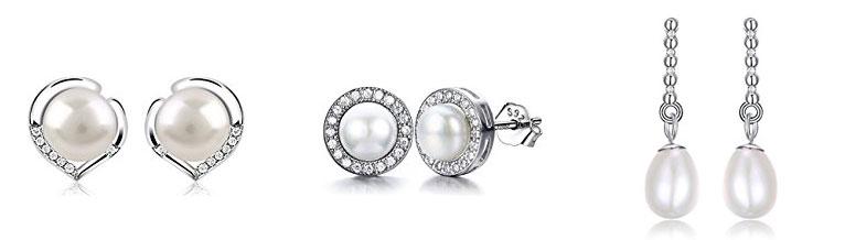 comprar pendientes de perlas para novias baratos
