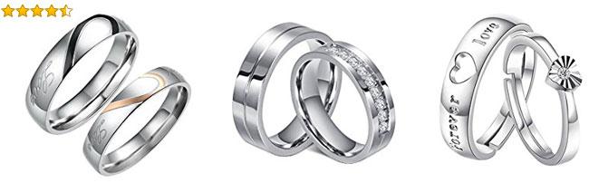 anillos para san valentin