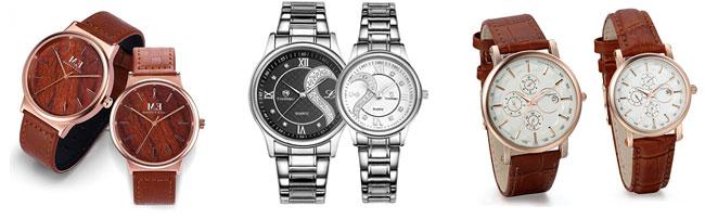 relojes para parejas san valentin