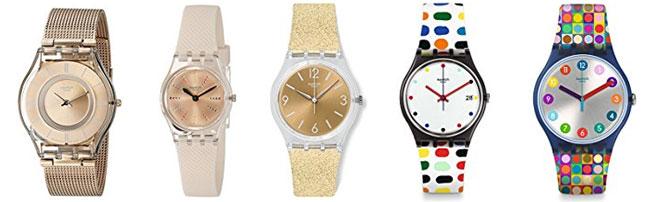 relojes san valentin swatch para mujer