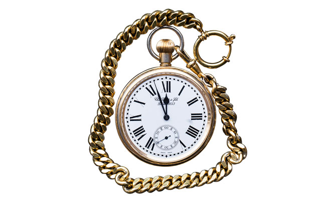 reloj de bolsillo para hombre